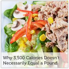 why 3500 calories is not a pound