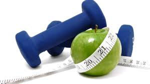 weights and apple